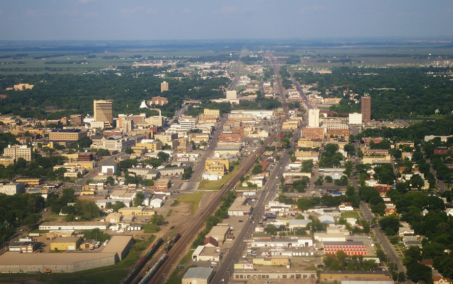 Fargo_ND_Downtown_overview