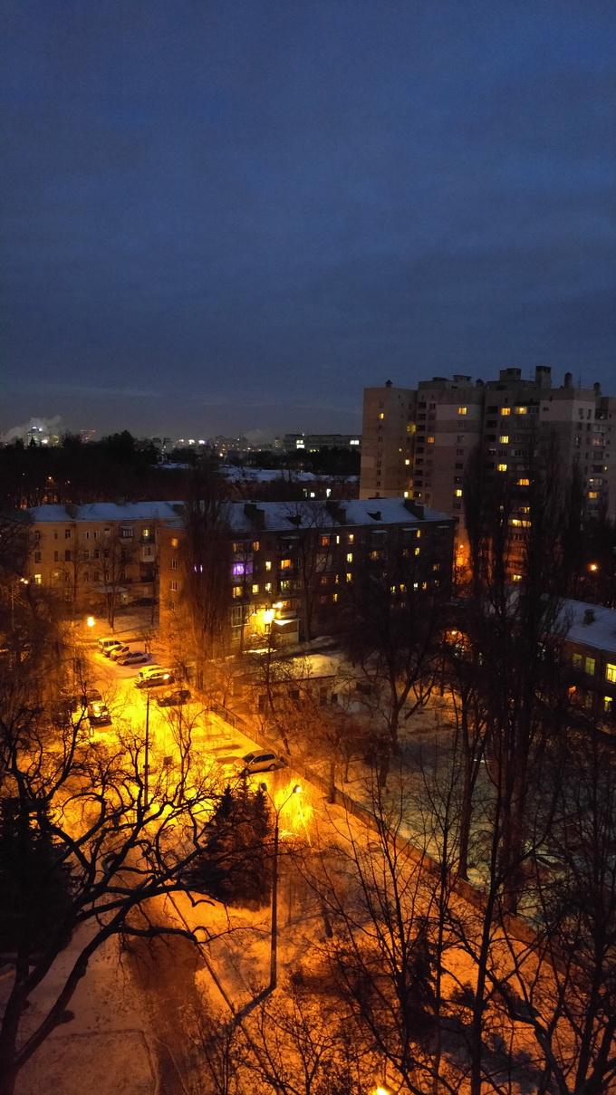 Фотосъемка в ночное время посредством основной камеры LG G4