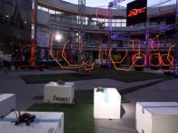Как выглядят гонки дронов в Вегасе