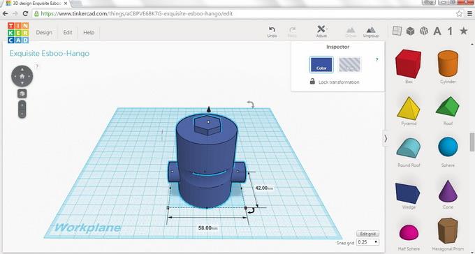 Tinkercad — бесплатный и простой в освоении редактор в браузере для создания 3D-моделей