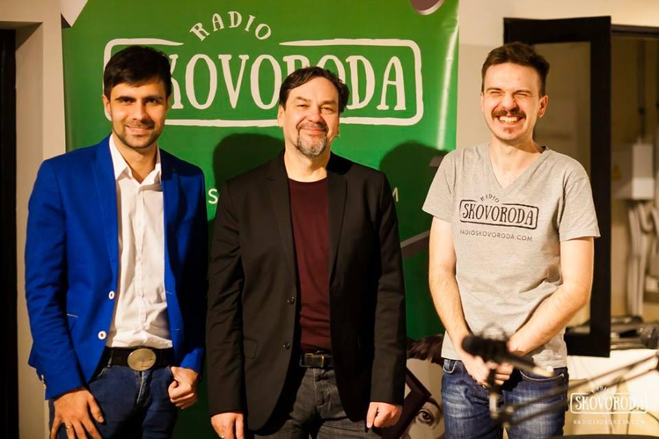Юрій Андрухович в гостях у «Сковороди»