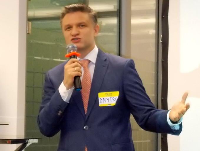 Дмитро Шимків: «Будучі на державній службі, я говорив з президентом про важливість відкриття даних, адже це створить зовсім інший тиск на державних службовців»
