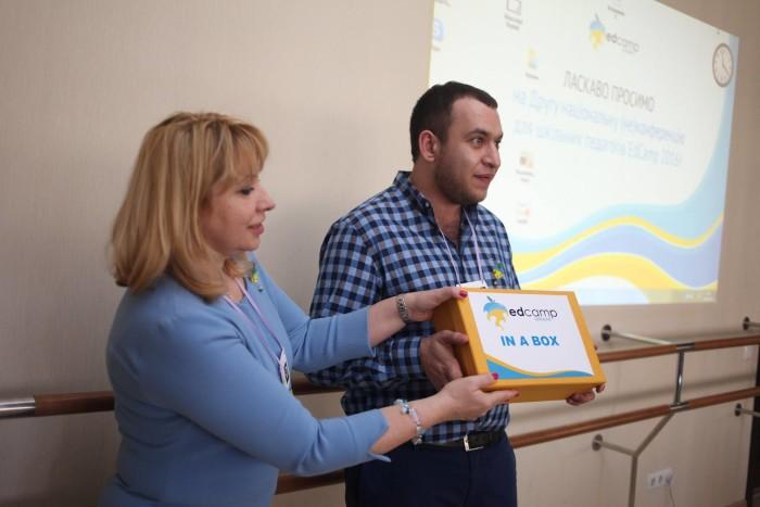 Презентація «ЕдКемп у коробці» в рамках Другої національної (не)конференції EdCamp Ukraine 2016, Олександр Елькін, Марина Пащенко