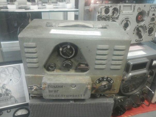 Танковая радиостанция «9РС «ТУР» 1945 года выпуска. Устанавливалась на танки «Т-34» и другие танки