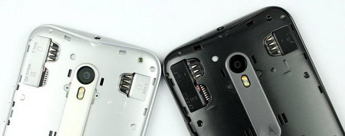 Снятие крышки открывает доступ к слотам для SIM-карт и MicroSD карты, сам корпус является фактически неразборным