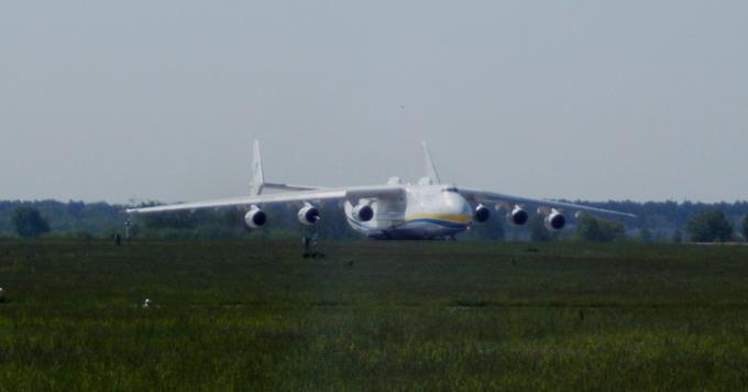АН-225 «Мрія» готується до злету