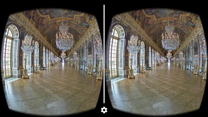Виртуальная экскурсия во дворец Версаль