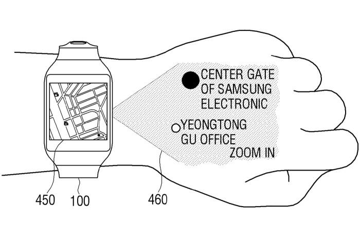 samsung-smartwatch-projector-patent