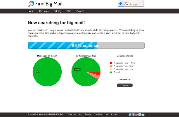 Find Big Mail