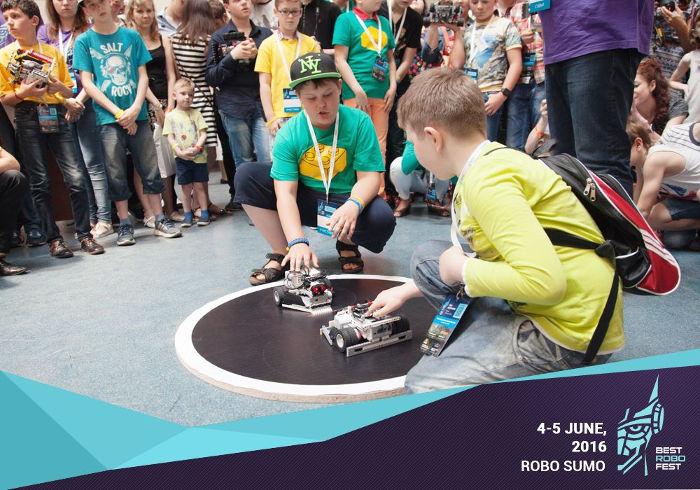 Фото з фестивалю робототехніки та інновацій BestRoboFest
