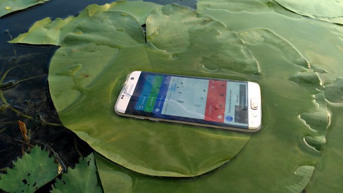 Защита от влаги по стандарту IP68 — важное преимущество Samsung Galaxy S7 Edge