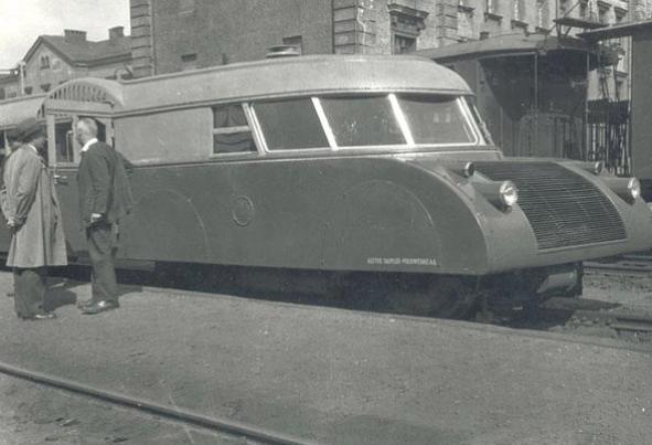 Австрійська «Люкс-торпеда» на Краківському вокзалі. Фото орієнтовно 1938 року