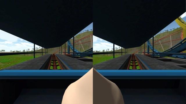 Нос игрока в VR-видео