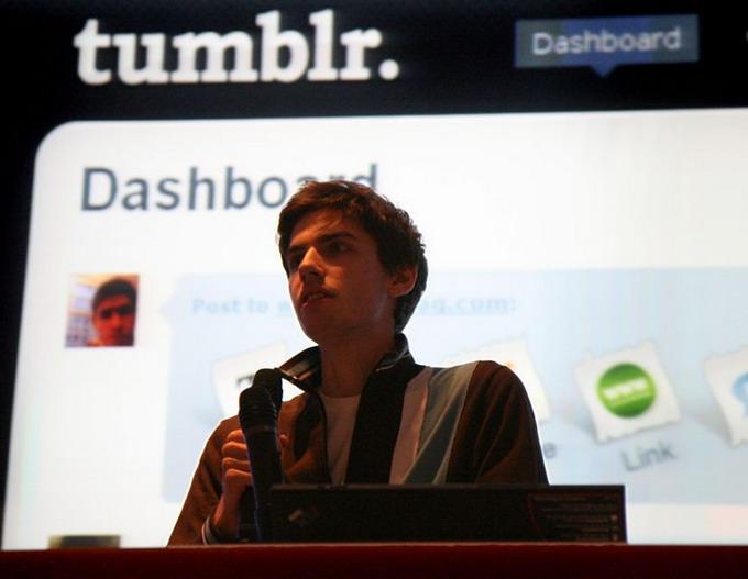 Дейвид Карп, создатель сервиса Tumblr