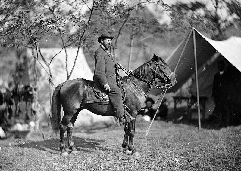 Алан Пинкертон, американский сыщик и разведчик, основатель «Национального детективного агентства Пинкертона», XIX век
