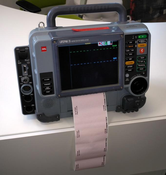 Дефибриллятор LIFEPAK 15 американской компании Physio-Control. Firmware для устройства создано разработчиками GlobalLogic