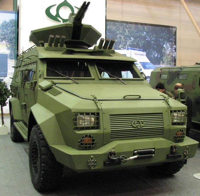 Броньована розвідувальна машина від корпорації «Богдан»