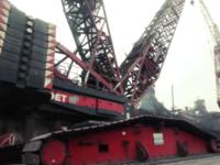 Один із найбільших кранів світу, який працює в Україні