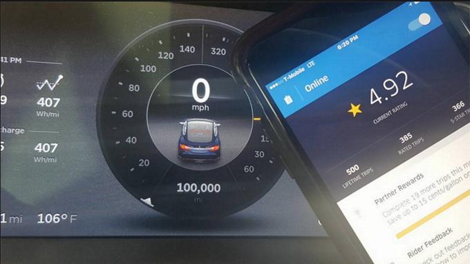 100 000 миль и 500 поездов Uber, 16 августа 2016