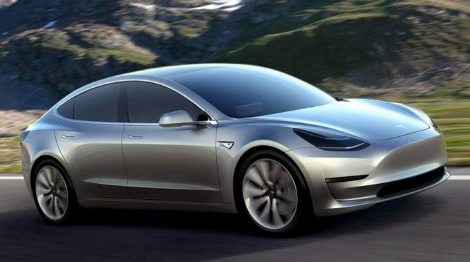 Стоимость Tesla Model 3 стартует от $35 тысяч