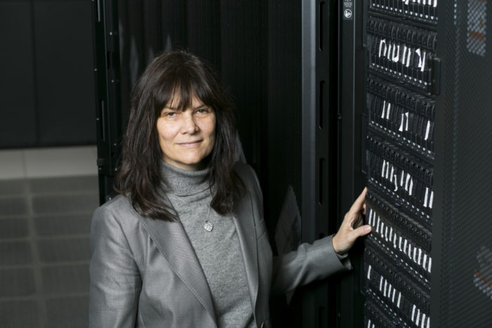 Kathleen Fisher, a computer scientist at Tufts University, leads the High-Assurance Cyber Military Systems (HACMS) project.