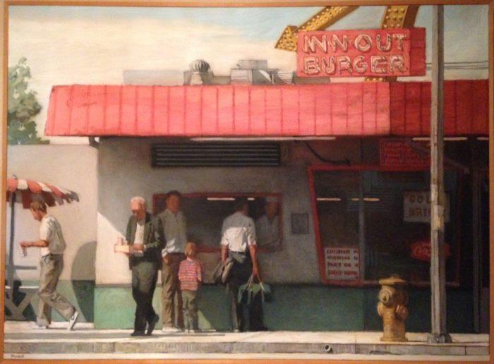 Киоск с бургерами In-N-Out. Автор рисунка Ричард Бункал (Richard Bunkall). Фото: Wikipedia