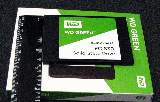SSD-накопитель WD Green с форм-фактором 2,5''