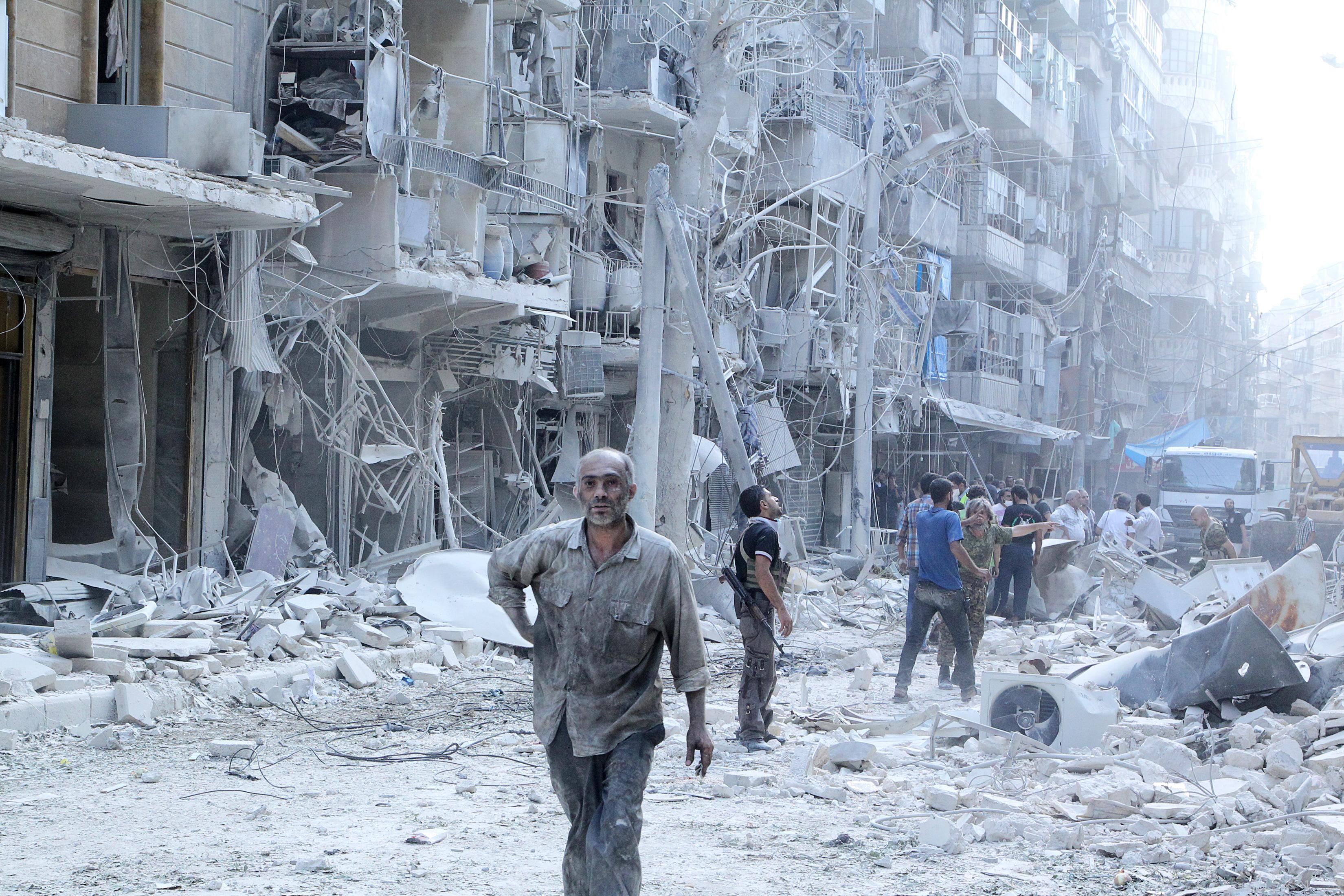 5 способов оказать помощь Алеппо для пользователей соцсетей