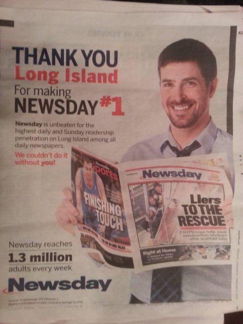 Друковані ЗМІ не здаються і створюють нову рекламу. Зі старою фотобазою.