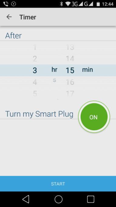 Таймер позволяет включать или выключать питание через заданный промежуток времени