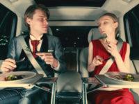 Volvo та UberEats показали, як потрібно доставляти їжу з ресторанів