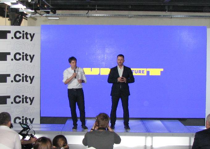 Керуючі партнери UNIT.City — Макс Яковер і Максим Бахматов — вважають проект дуже прогресивним та корисним для України