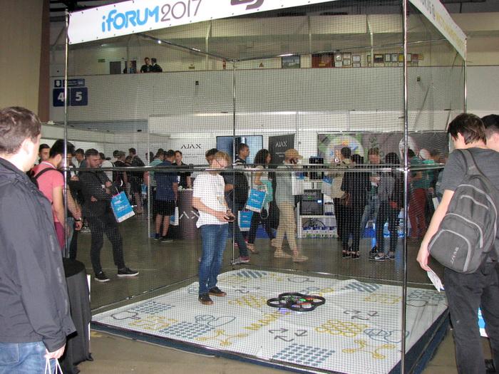 Дроно-куб для соревнования квадрокоптеров