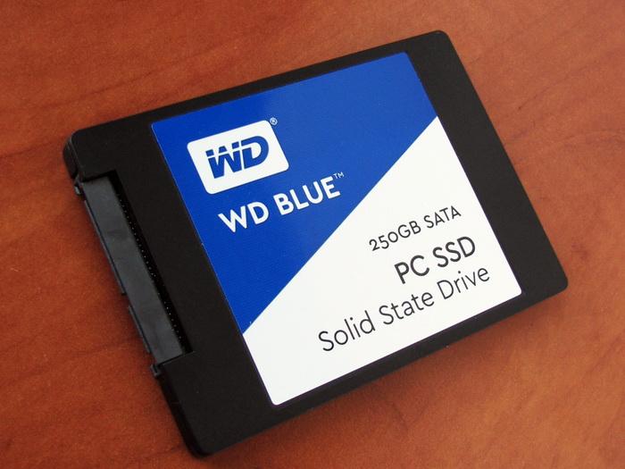 Накопитель WD Blue продвигается производителем как высокопроизводительное решение для хранения данных