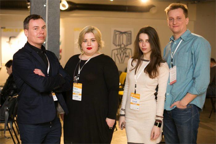 Команда EcoInfo, Ксенія — друга ліворуч