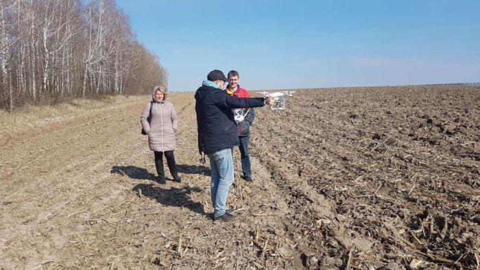 Процес моніторингу земель з використанням БПЛА