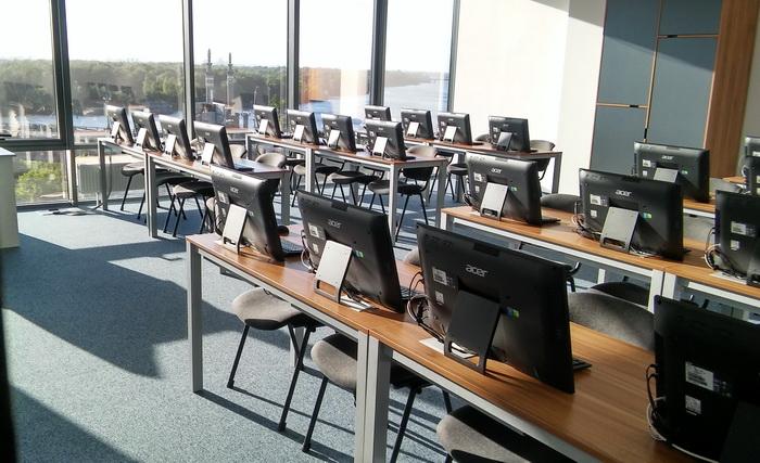 Один з учбових класів DAN.IT education
