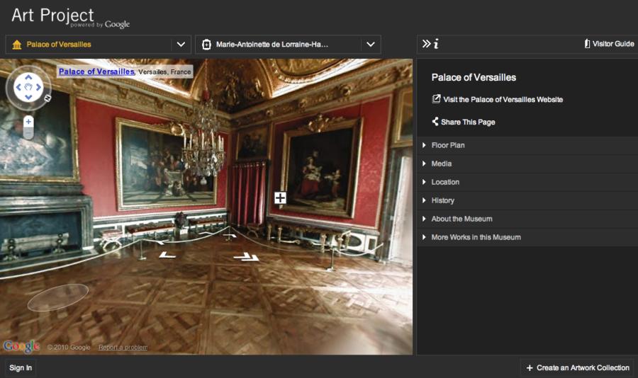 Google Art Project предлагает виртуальные экскурсии по музеям