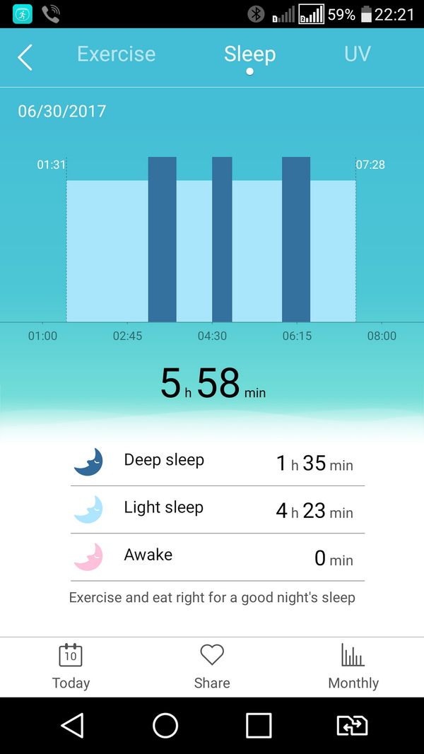 Screenshot_Sleep_report