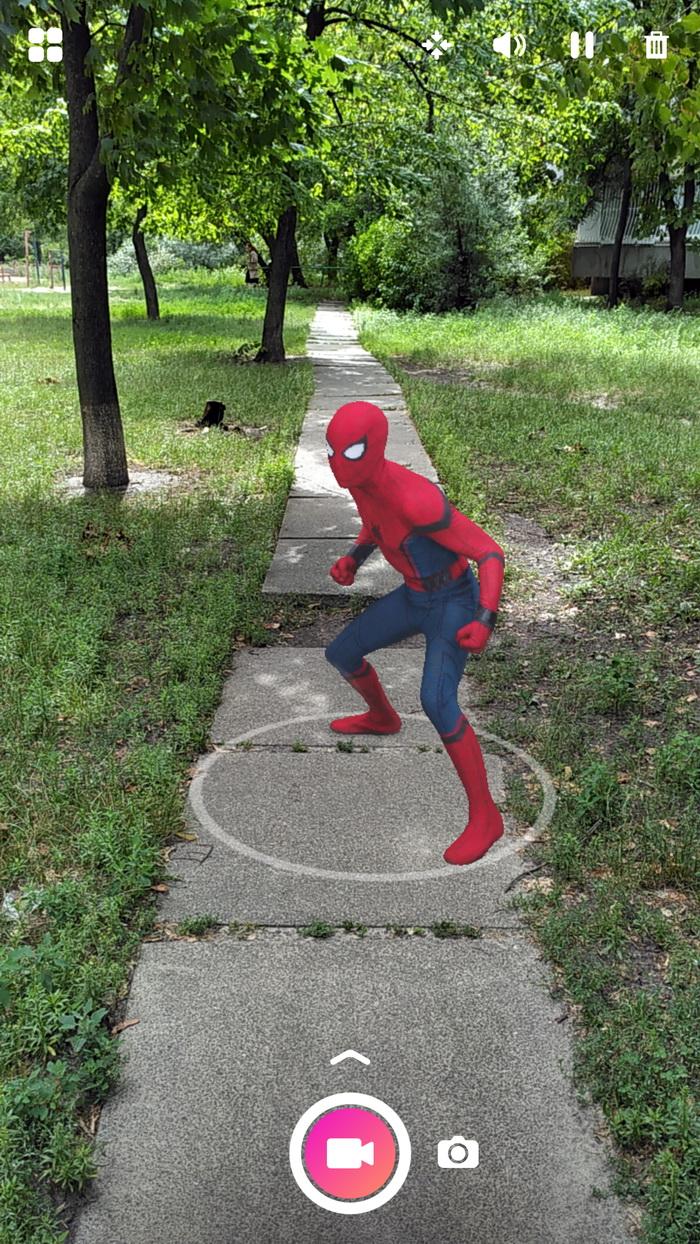 Спайдермен у вашому дворі