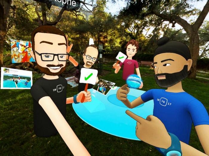 Facebook Spaces предложил для общего использования VR-приложение (2017), GreenSpace Today