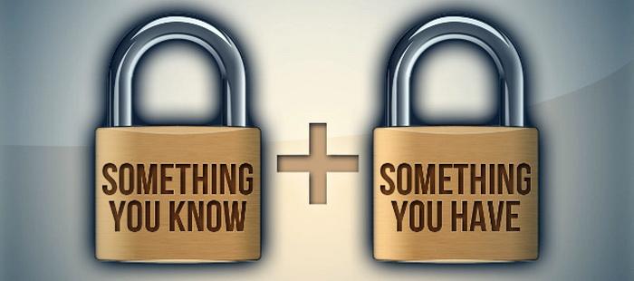 Принцип 2FA: щось, що ви знаєте, та щось, що у вас є