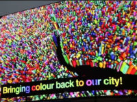 Найбільший рекламний екран Європи запрацював у Лондоні