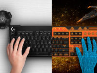 Logitech представила клавіатуру щоб друкувати у віртуальній реальності