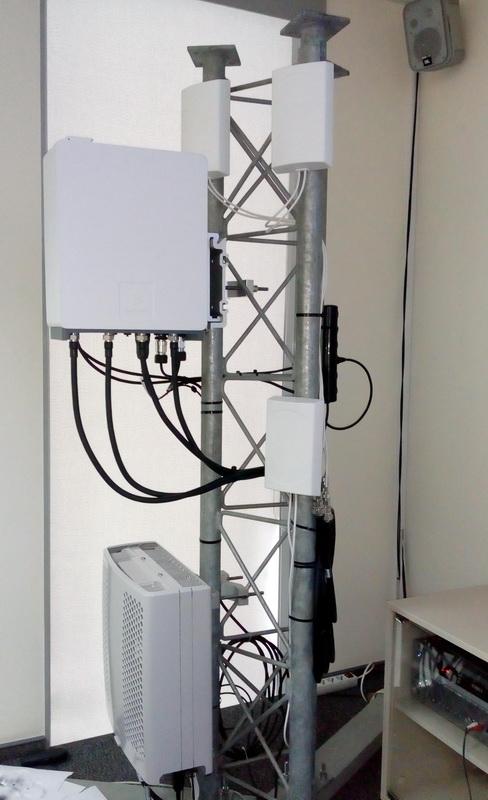 Базова станція LTE, яка буде використовуватися при розгортанні мережі lifecell в наступному році