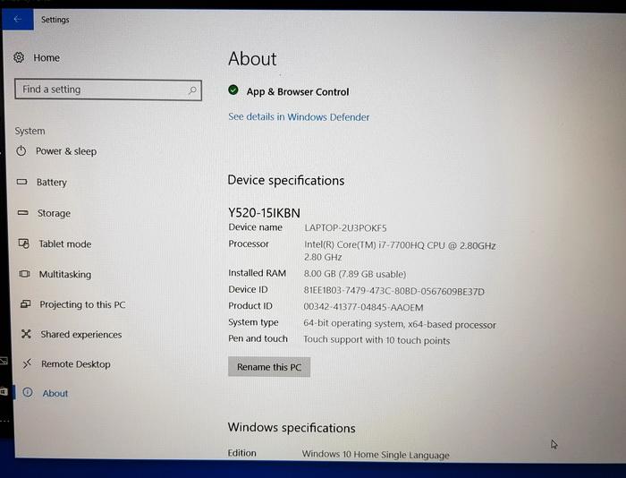 Для занурення у віртуальну реальність потрібен процесор не нижче Intel Core i5 сьомого покоління в десктопній версії