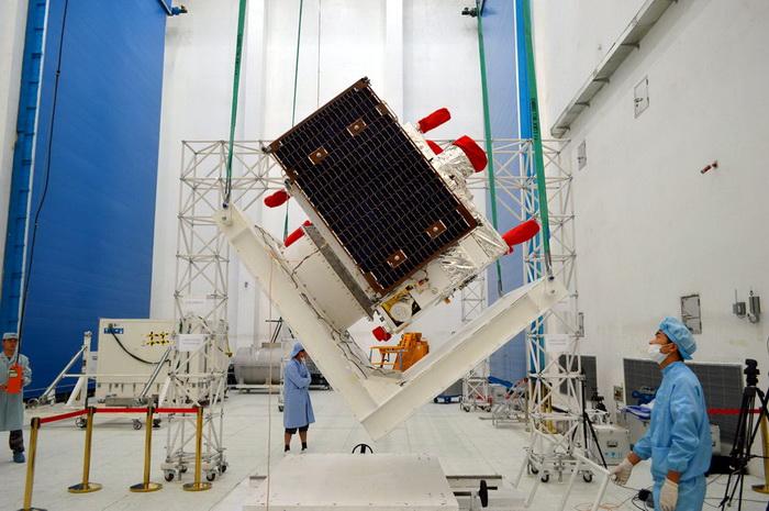 Випробування експериментального супутника квантового зв'язку в Jiuquan Satellite Launch Center, Китай. Липень 2016 року