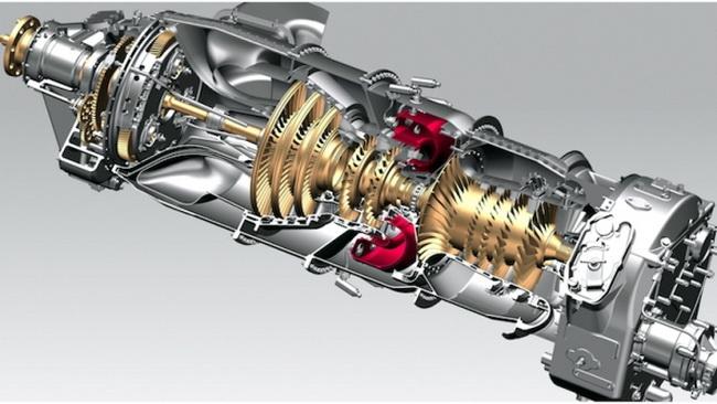 Авіадвигун GE Advanced Turboprop, якій містить рекордно велику кількість надрукованих на 3D-принтері компонентів