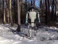 Boston Dynamics вивела свого робота на сніг
