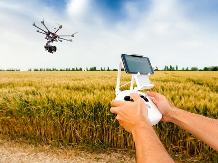 Найчастіше дрони використовуються в аграрному секторі для візуального контролю і моніторингу